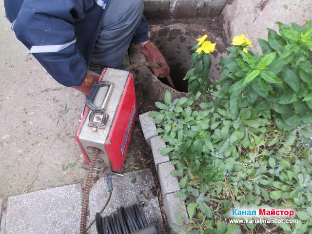 Отпушване на канализацията