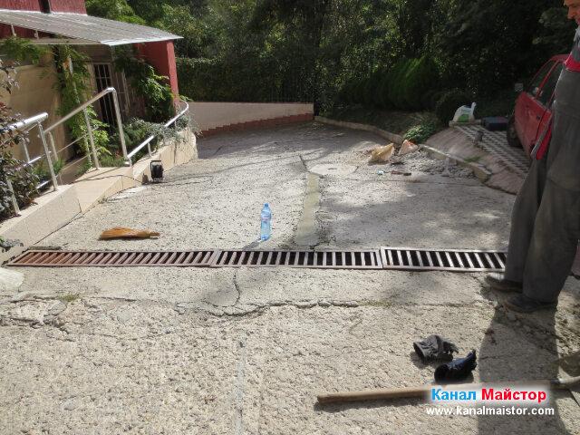 Ремонта на канализацията е приключен