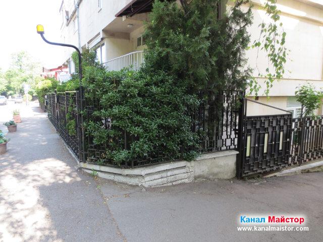 Извършихме отпушване на каналите на тази сграда в София