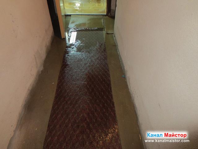 наводненото мазе