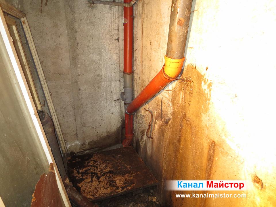Отпушване на канализационни тръби в София