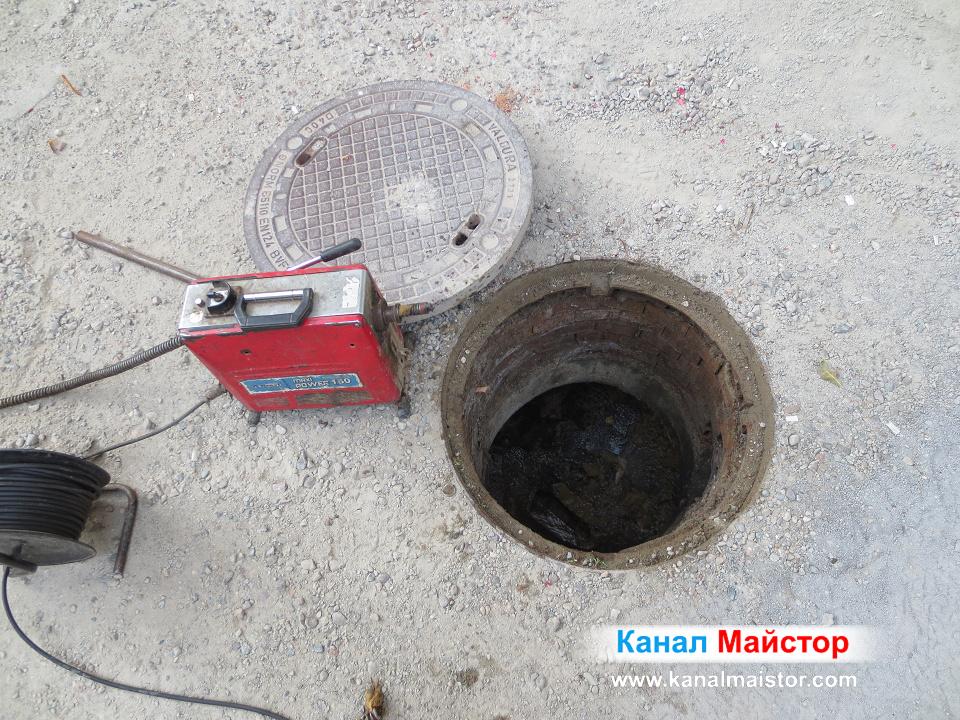 Това е един от инструментите, с които извършваме отпушване на канали и шахти в цяла София